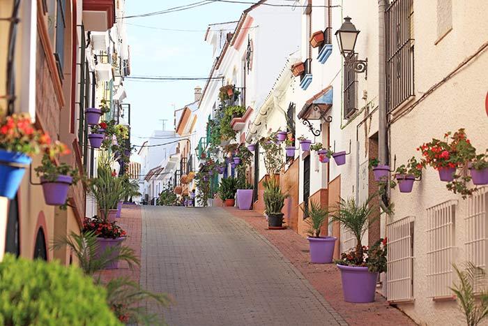 Calles de Estepona, Costa del Sol