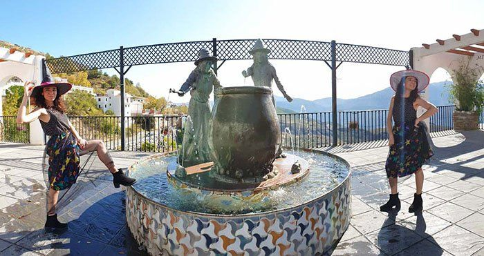 Mirador del Embrujo, Soportújar el pueblo de las brujas en la Alpujarra Granadina