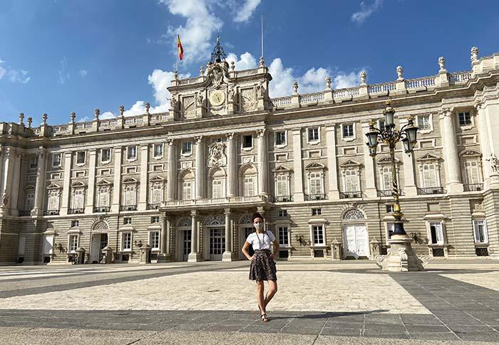 Plaza de Armería del Palacio Real de Madrid