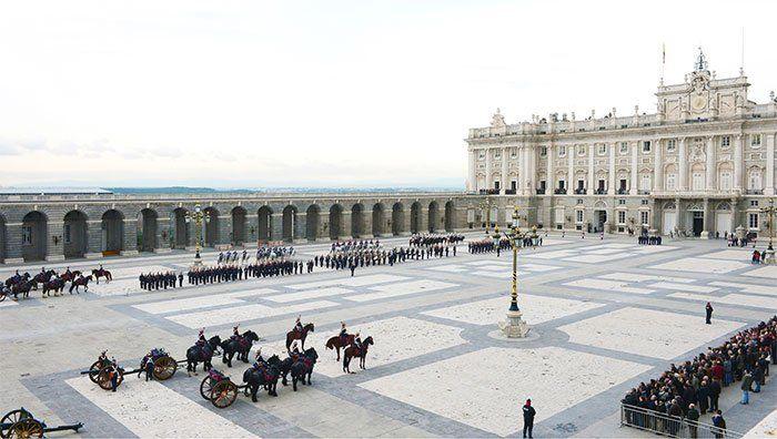 Relevo Solemne, Palacio Real de Madrid