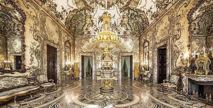 Sala Gasparini, Palacio Real de Madrid
