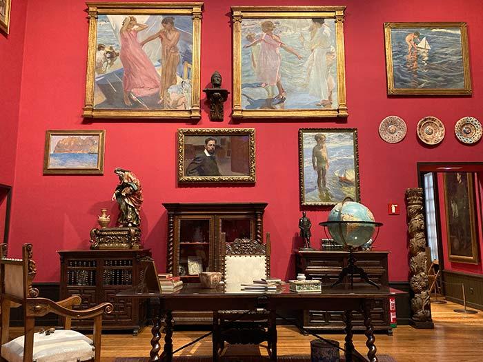 Taller de Sorolla en su casa museo, Madrid