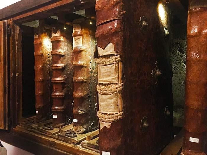 Códices y cantorales en el Monasterio de Yuso