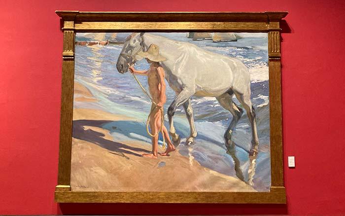 El baño del caballo, una de las obras más importantes del artista