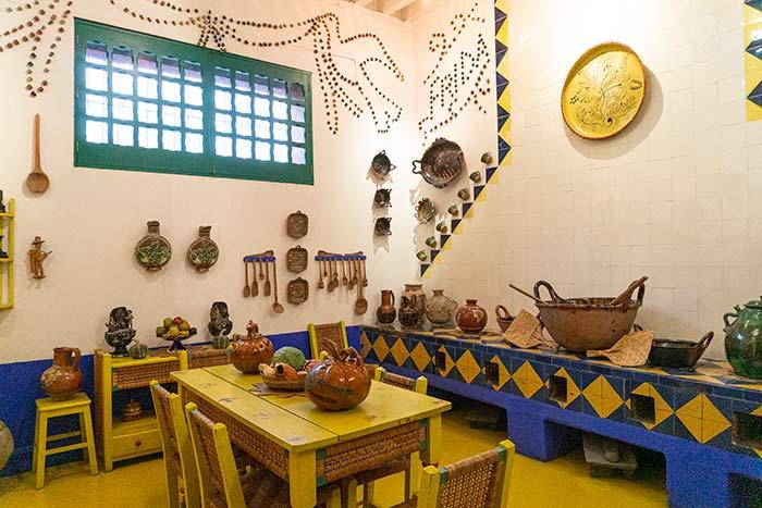 Cocina de la casa de Frida Kahlo, CDMX