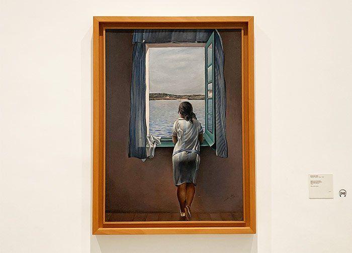 """""""Muchacha en la Ventana"""", Salvador Dalí en el Museo Reina Sofía"""