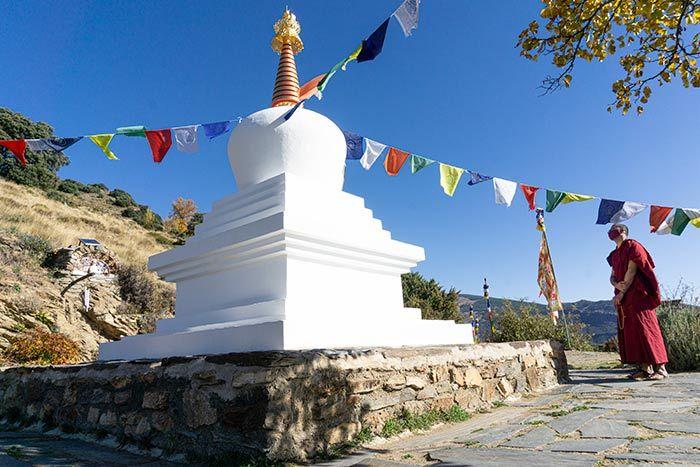 Centro budista O Sel Ling, en las Alpujarras de Granada