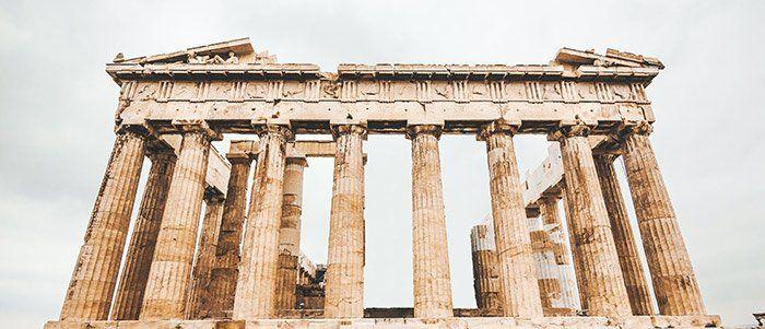 La acrópolis ateniense