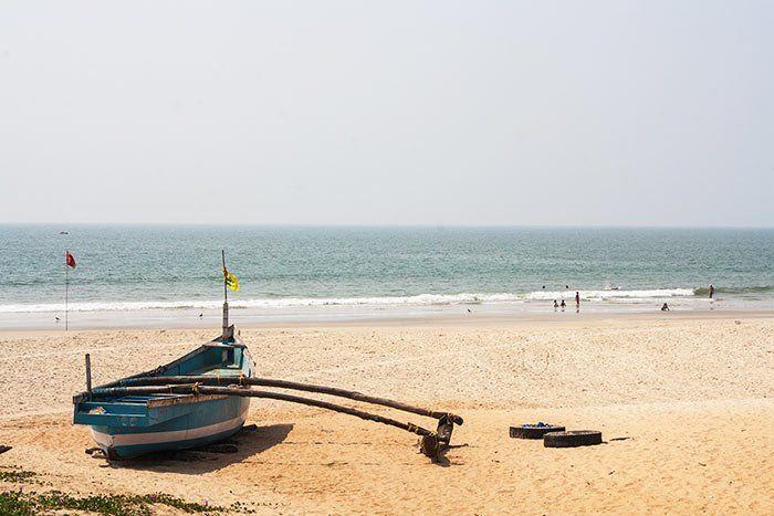Playa en Benaulim, Goa