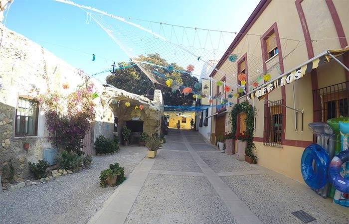 Calles del centro de Tabarca