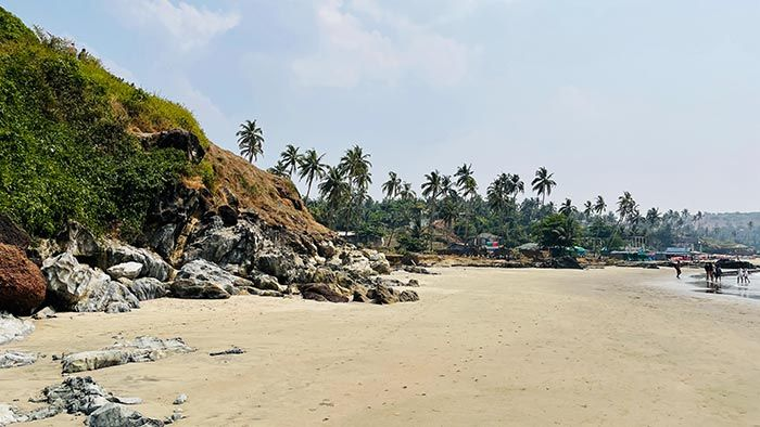Vagator Beach, Goa.