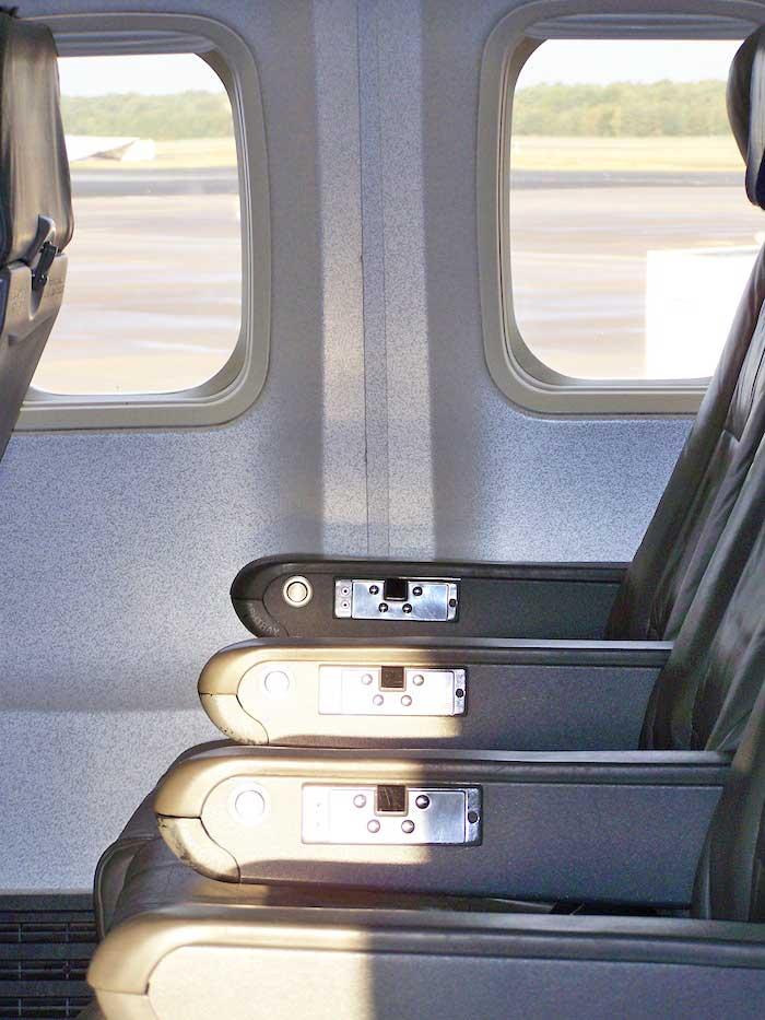 Escoger asiento para viajar en avión