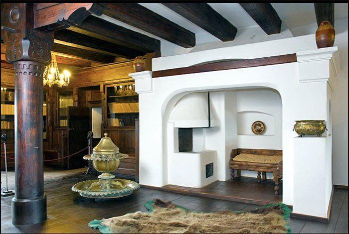 Interior del castillo de Drácula