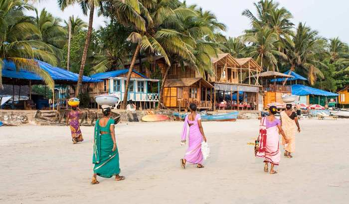 Playa Palolem, Goa