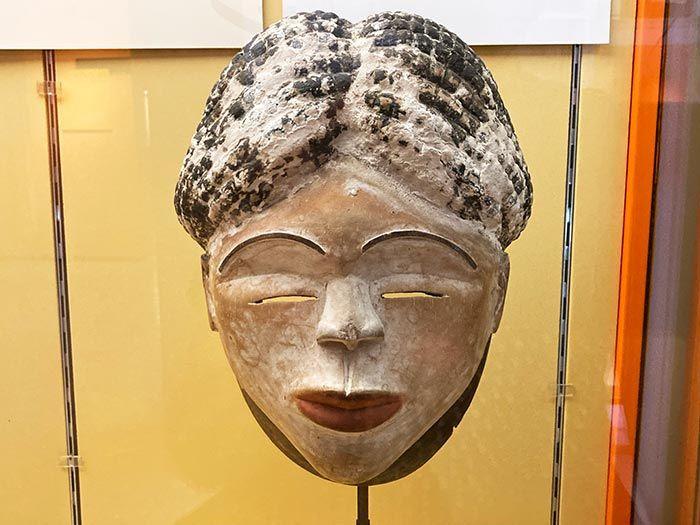Máscara de Museo de Antropología