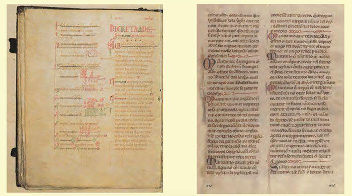 Manuscritos del Fuero del León siglos XII y XIII