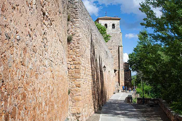 Restos de la antigua muralla de Covarrubias, Burgos