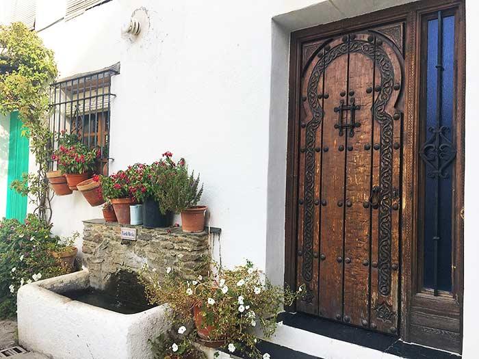 Portal bonito en Bubión