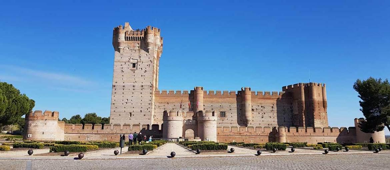 Vista exterior del Castillo de la Mota, Medina del Campo