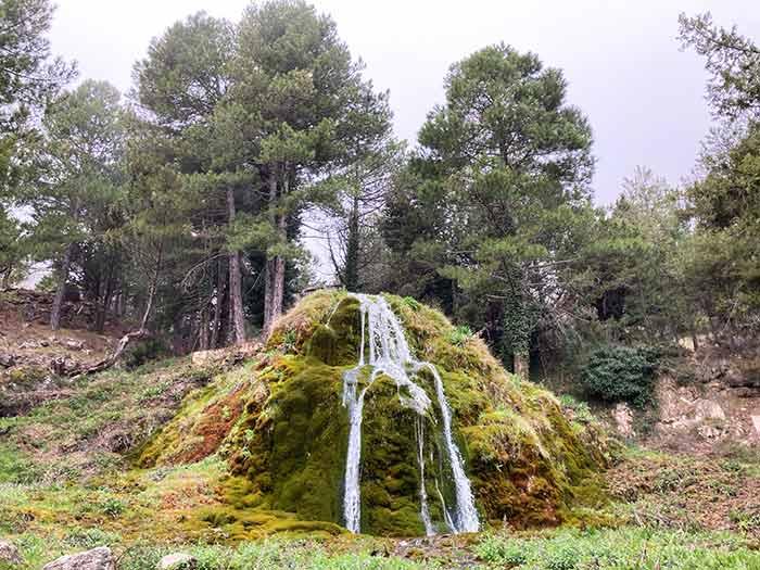 Cascada Fuente Tejeda, comarca Gúdar Javalambre, Teruel