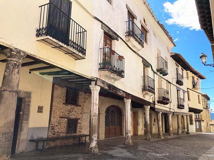 Calles de Mosqueruela, comarca de Gúdar Javalambre