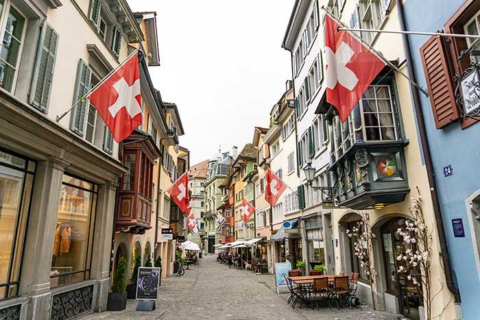 Augustinergasse, la calle más instagrameable de Zúrich