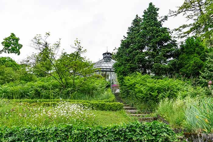 Antiguo Jardín Botánico en Zúrich, Suiza