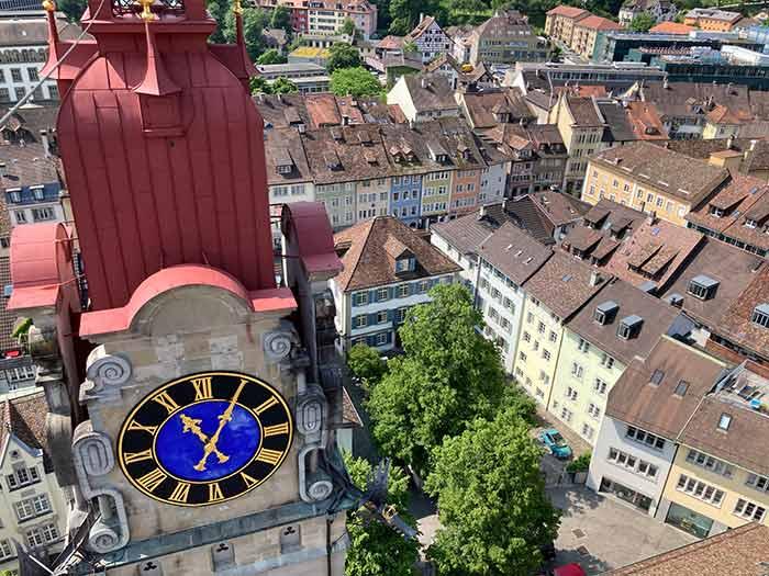 Qué ver en Winterthur: las torres de la iglesia parroquial de Winterthur, Suiza