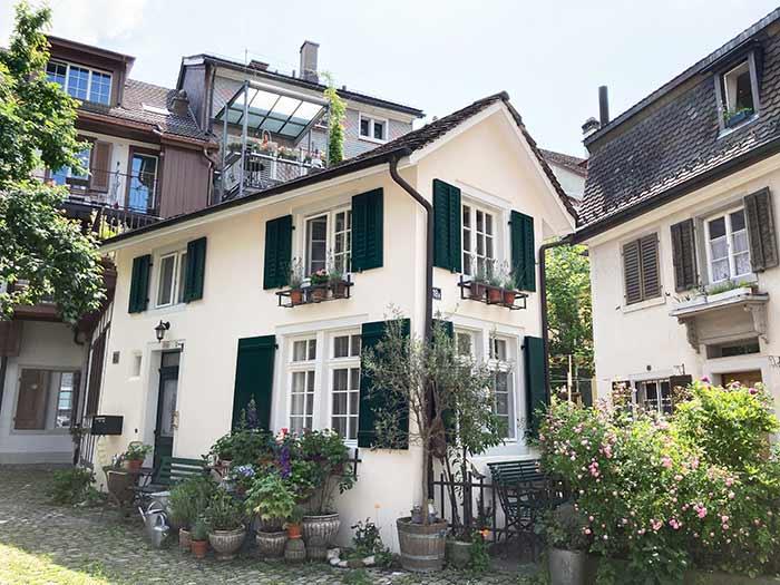 Casa más pequeña de Suiza