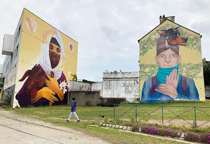Murales en Saint Nazaire