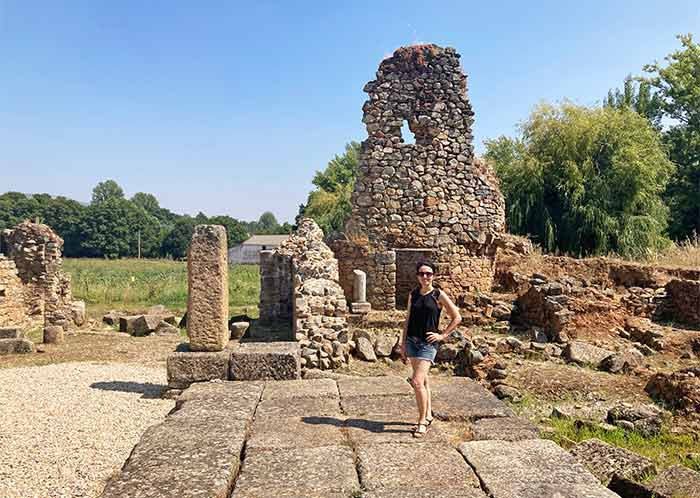 Ruinas romanas de AMMAIA, Portugal