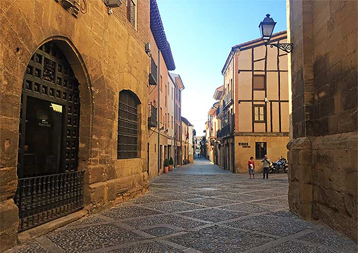 Calles de Sant Domingo de la Calzada