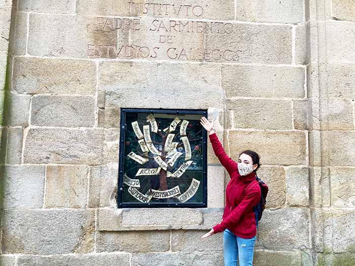 Árbol de la Ciencia en Santiago de Compostela