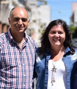 Meli junto a Alejandra Obeid en la oferta electoral para diputados