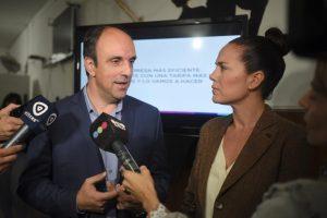 """José Corral: """"Vamos a bajar la tarifa de la EPE un 20%, con menos impuestos y cuentas claras"""""""