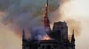 ¿Cuánto se tardó en encontrar el foco de incendio en Notre Dame?