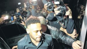 Neymar, a declarar