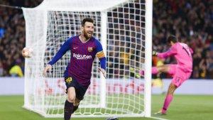 Messi goleador de la Champions