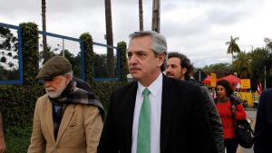 """Alberto Fernández: """"Mauricio Macri es el candidato de Donald Trump"""""""