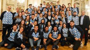 Macri recibió a los atletas argentinos que compitieron en los Juegos Panamericanos