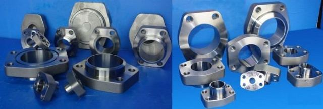 SAE Butt weld flanges, code 61 flanges, code 62 flanges