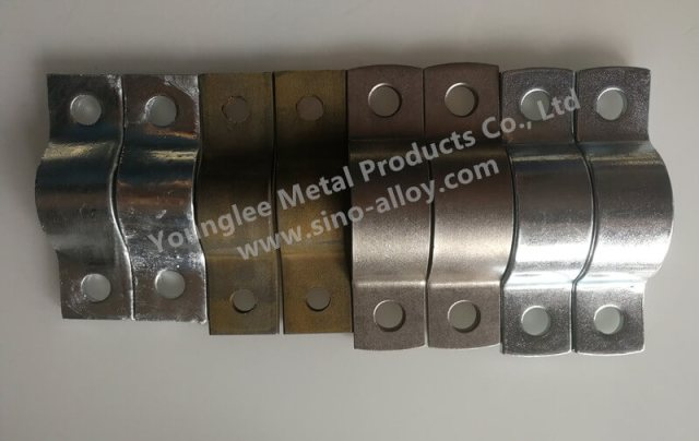 Steel Ppie Clamps according to DIN 3567