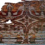The 'Hu King' brocade unearthed from Astana ancient tombs in Turpan