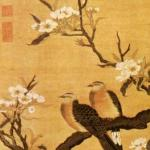 Work of Shen Zifan, kesi silk weaving craftsman of Southern Song Dynasty, meticulously depicting the serene and realistic style of flower-and-bird painting of Southern Song Dynasty.