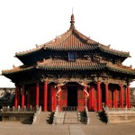 The Dazheng Hall in the Shenyang Palace Museum