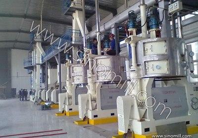 Edible Oil Processing Machine