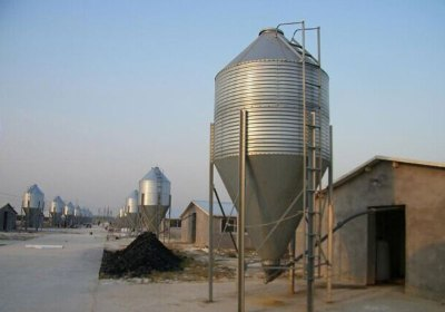 animal feed storage silo