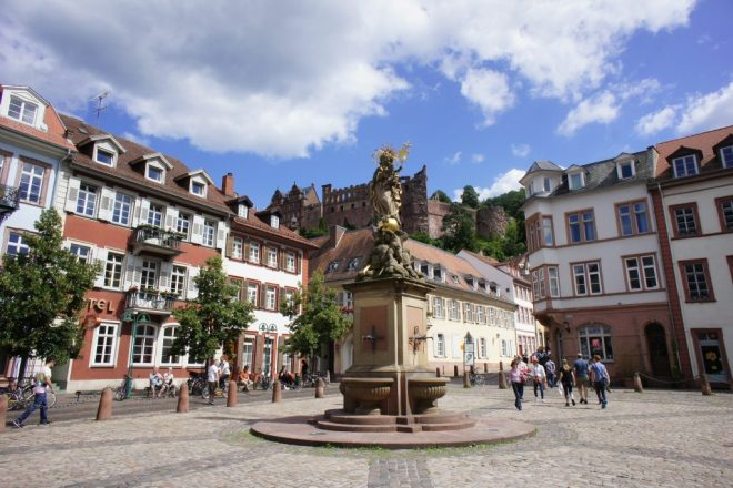 Kornmarkt in Heidelberg