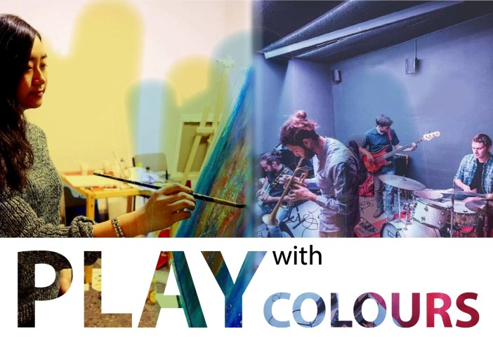 Play with colours poster
