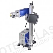 30W ON-THE-FLY CO2 LASER MARKING CODING MACHINE